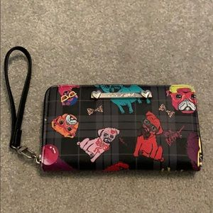 Betsey Johnson Pug Wallet